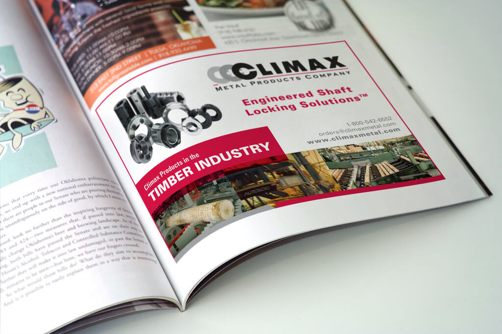 Climax Metal Products Company Ad